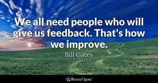 feedback quotes brainyquote