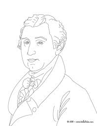 president james monroe coloring pages hellokids com