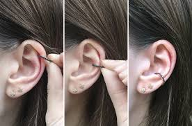 ear cuff how to style an ear cuff the astley clarke jewellery