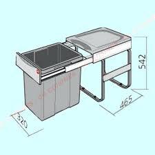 castorama poubelle cuisine poubelle integrable cuisine poubelle coulissante poubelle
