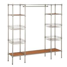honey can do 68 in x 16 5 in freestanding closet organizer wrd