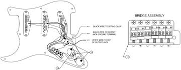50 u0027s stratocaster wiring diagram and bridge assembly