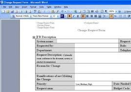 Project Project Management Change Request by Project Management Change Request Form Detail Requests For