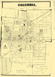 columbia missouri map city of columbia historic maps