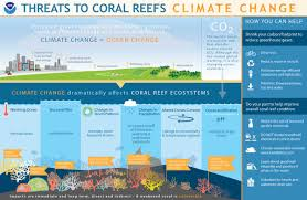how does climate change affect coral reefs