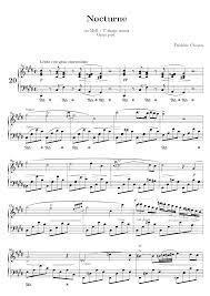 nocturne in c sharp minor b 49 chopin frédéric imslp