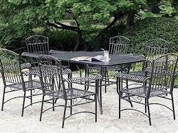 Patio Furniture Vintage - patio 45 metal patio table vintage iron patio furniture