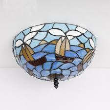 stained glass ceiling light fixtures 3 light ceiling lights for kitchen and tiffany type