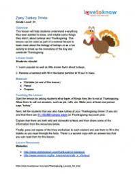 thanksgiving lessons for lovetoknow