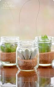 upcycled baby food jars wood vase candleholder food jar jar