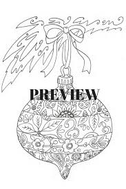 printable coloring pages zentangle coloring page christmas zentangle ornament