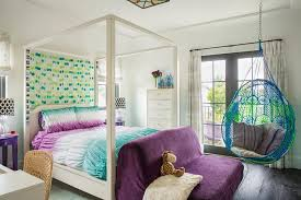 Blue Purple Bedroom - blue and purple bedroom with anthropologie knotted melati
