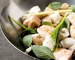 citronnelle cuisine recette wok de saumon et cabillaud à la citronnelle et au basilic