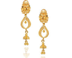gold jhumka earrings design with price earrings designer earrings jhumka designs in gold with price