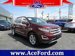 ace ford woodbury brown ford edge in jersey for sale used cars on buysellsearch