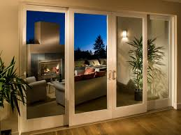Full View Exterior Glass Door by Patio Doors Rare Triple Tracking Patio Doors Photo Ideas Hgtv