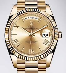 golden rolex rolex day date 40 watch with new rolex 3255 movement ablogtowatch