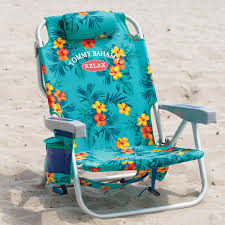 Backpack Cooler Beach Chair Tommy Bahama Backpack Cooler Beach Chairs Green Floral New