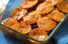 maple and tarragon sweet potatoes vegan one green planet
