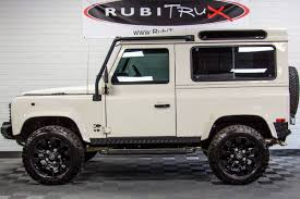 white land rover defender pre owned 1997 land rover defender 90 white