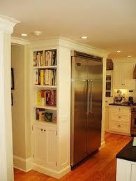 Pantry Cabinets For Kitchen Doors Beside Built In Fridge Side Cabinet Fridge In Corner