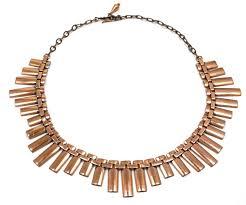 copper necklace images Vintage renoir copper peter pan necklace jpg