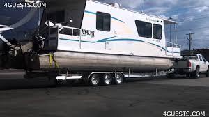 myacht houseboat on trailer youtube