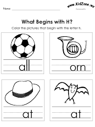 color the pictures beginning letter sounds