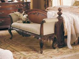 Small Upholstered Bedroom Bench White Study Desk Near Beds Storage Bench For Bedroom Beige Wall