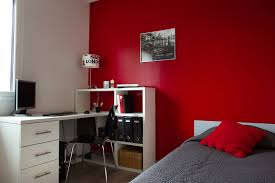 chambre particuli e peinture noir et blanc pour chambre
