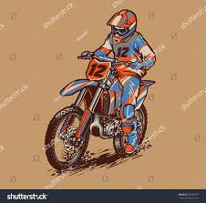 motocross racing tips motocross racing stock vector 579180097 shutterstock