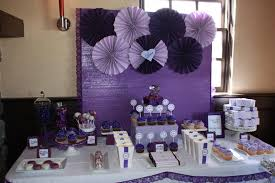 wedding shower table decorations purple bridal shower decorations deboto home design 2 ultimate