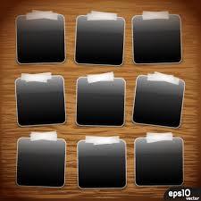 set of polaroid photo frames vector material 02 u2013 over millions