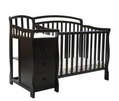 Convertible Mini Crib 3 In 1 On Me Piper 4 In 1 Convertible Mini Crib White Walmart