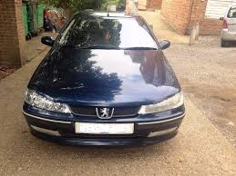 peugeot 406 glx petrol engine ew10 2002 model finished in blue