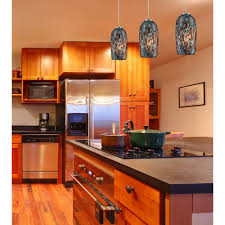 glass kitchen pendant lights modern mini pendant light with multi color glass 31147 1