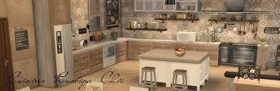 cuisine rustique moderne sims 4 deco rustique cuisine kitchen chic moderne