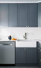 white kitchen cabinets with hexagon backsplash new york white hexagon tile kitchen traditional with grey