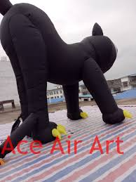 online shop gloomy giant halloween inflatable black cat for