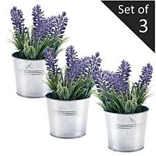 faux flowers 6 inch artificial lavender plant decor faux flowers