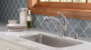 kitchen faucet leaking delta excellent no leak uses patented free