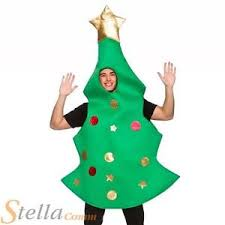 christmas tree xmas fancy dress costume mens ladies unisex