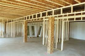 cozy framing a basement wall 2017 cost basements ideas