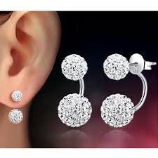 stud ear 2017 fashion jewelry stainless steel stud earrings for women