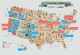 National Map Doe National Laboratories Symmetry Magazine