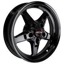 Mustang Black Chrome Wheels Race Star Industries 92537340dsd Mustang Dark Dd 15x3 75 79 14