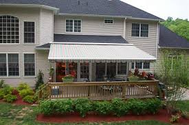 Roof Mounted Retractable Awning Awnings U0026 Screens Valiant Home Remodelers Carteret Nj