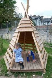 wooden tent build your kids a wooden teepee tent diy projects for everyone