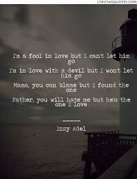 a fool in love izzy adel fallen angel i m a fool in love but i can t let him go i