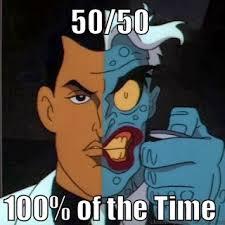 Batman Face Meme - two face meme halloweeny pinterest meme